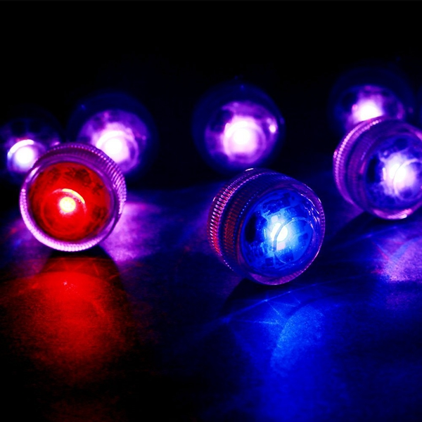 10pcs Colorful Remote LED Submersible Candle Light Waterproof Table Lamp for Wedding Party Chirstmas