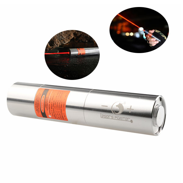 U King ZQ-J12 638nm Red Light Powerful Buring Laser Pointer Laser Flashlight With US Charger