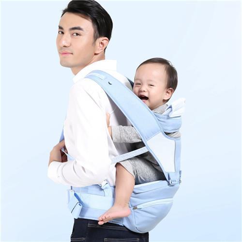 Xiaoyang Marsupio multifunzionale per seggiolino 360 Grau Protezione ergonomica per colonna vertebrale Mochila Kangaroo Zaino seggiolino per sedersi con schienale da Xiaomi Youpin