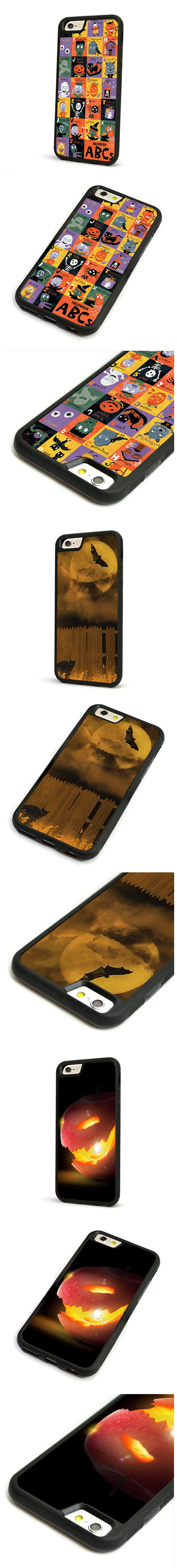 Halloween Case TPU Soft Back Cover For iPhone 6 Plus 6S Plus
