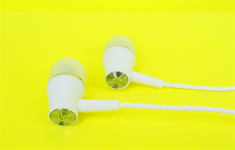 JTX F606 In-ear Metal Moving Coil Wired Control Earphone Headphone With Mic