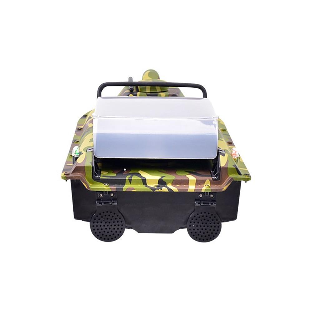 Jabo 2AG 620mm 2.4G Fishing Bait Rc Boat GPS Beidou Navlgation W/ Double 380 Motor LED Light Toy