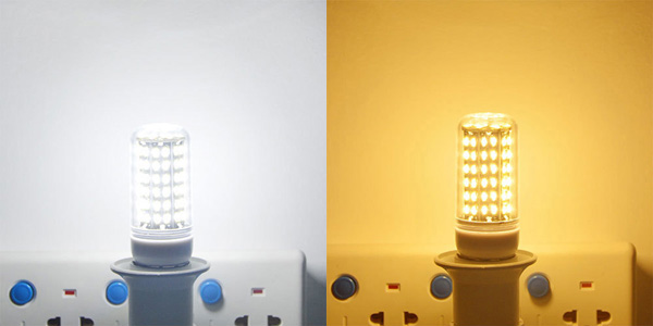 E27/E14/E12/B22/G9/GU10 LED Bulb 6W SMD 4014 96 600LM Pure White/Warm White Corn Light Lamp AC 220V