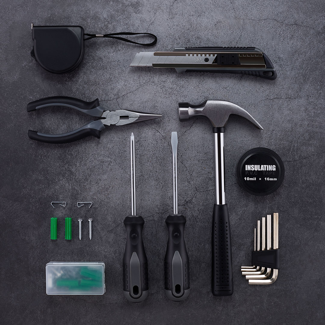 Wrench Hammer Screwdriver Ruler Cutter Pliers Digital Pen Tools Kit 12 in 1/ 60 in 1 from Xiaomi Youpin