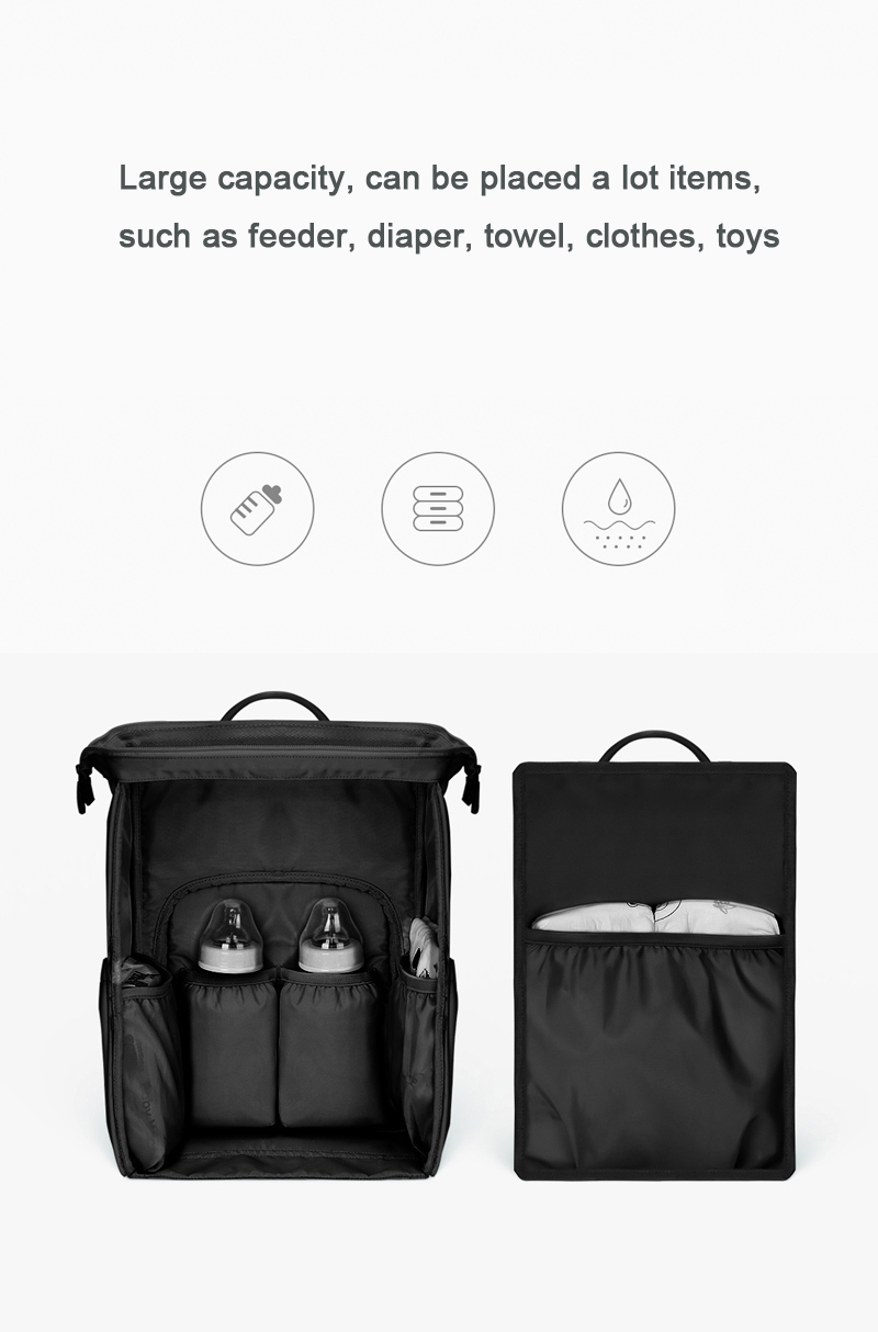 Xiaomi Xiaoyang 20L Mummy Maternity Backpack Diaper Bag Nursing Baby Nappy Pouch For Outdoor Travel