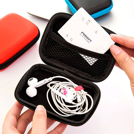 Headphone Cable Cell Phone Charger Data Cable Box Heads