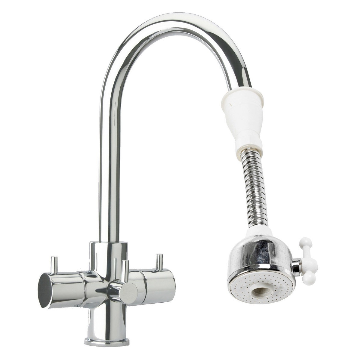 Water Saving Faucet Aerator Kitchen Tap Adjustable Nozzle Spout Hose Swivel