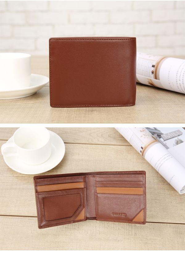 Genuine Leather Smart Wallet Bluetooth Anti Theft Wallet