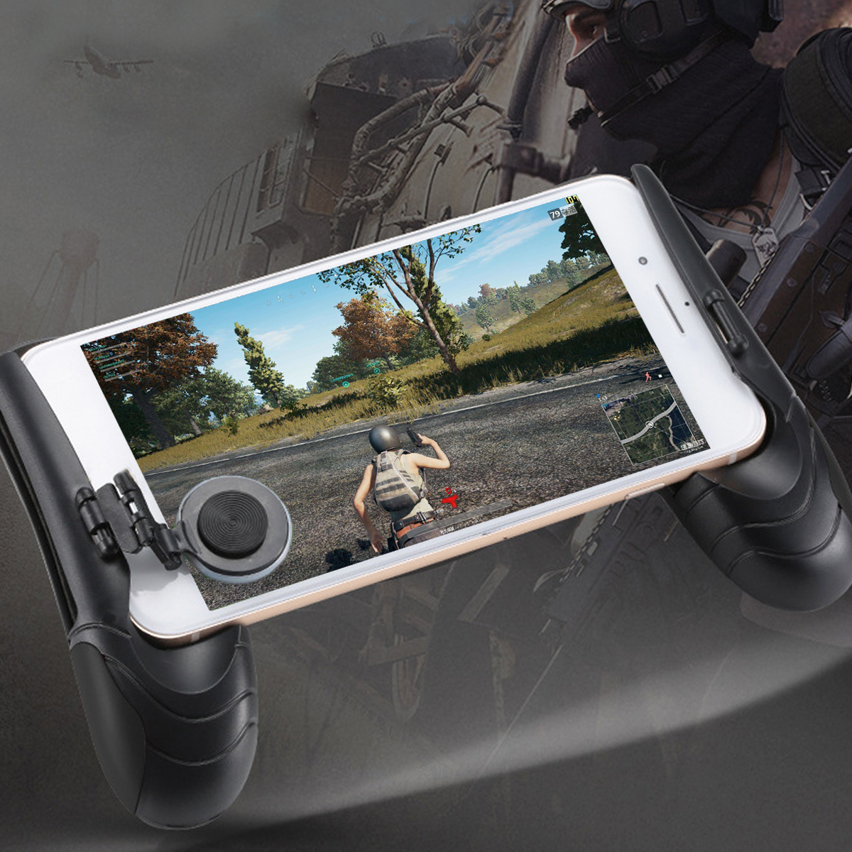 Bakeey Game Gamepad Trigger Controller Hand Phone Holder For Shooter PUBG Phone Game
