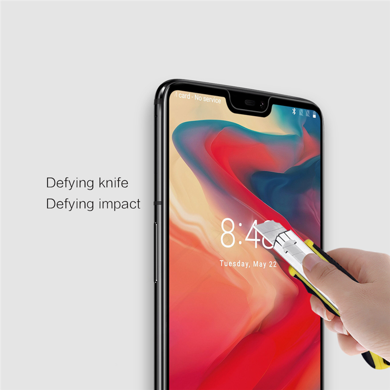 NILLKIN 3D CP+MAX Anti-Explosion Full Cover AGC Glass Screen Protector For Oneplus 6