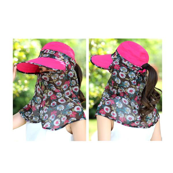 Women Ladies Summer Sun Protection Beach Sun Hat