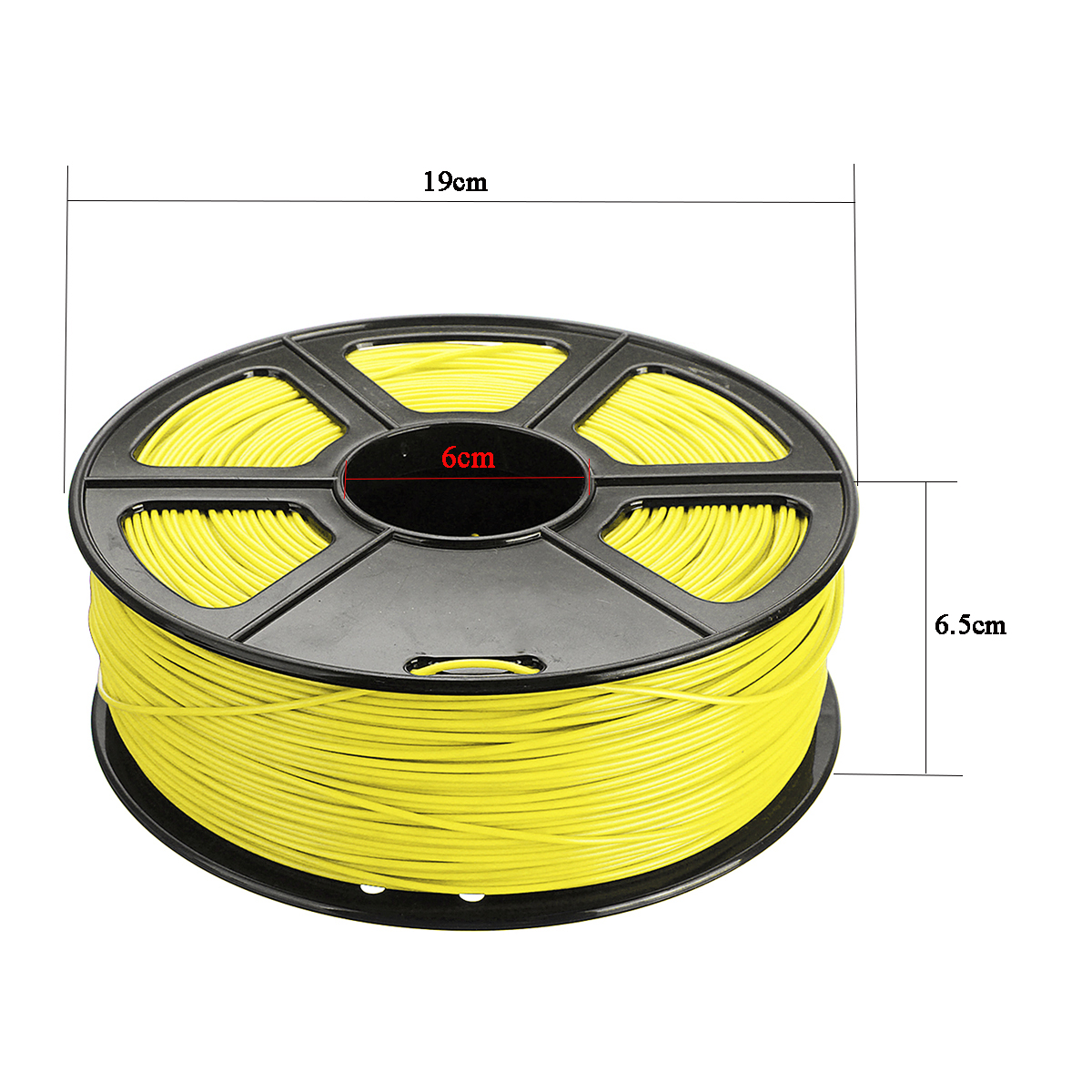 1.75mm 3mm ABS Mutil-Color 3D Printer Filament With Good Tensile Strength