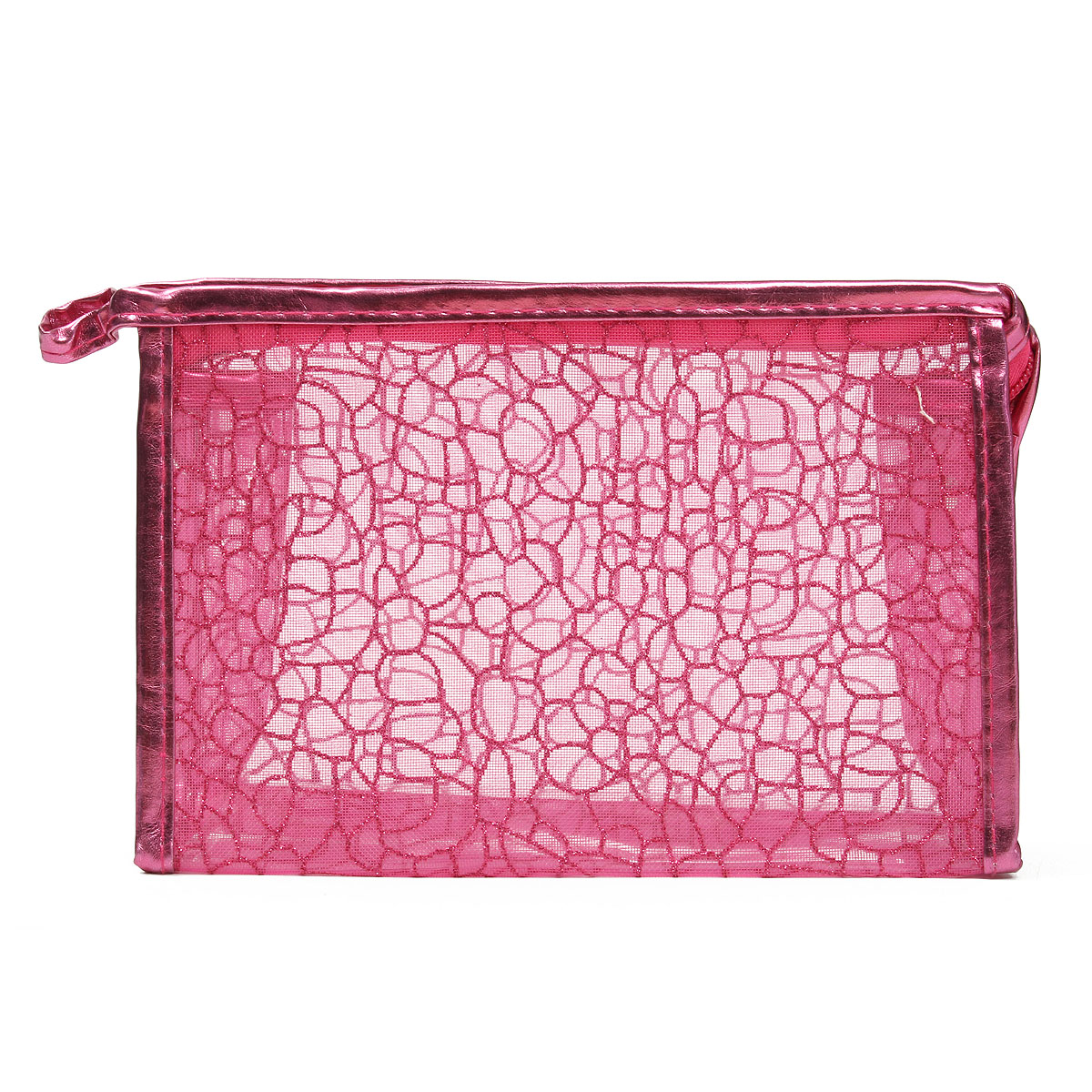Transparent Waterproof PVC Cosmetic Bag Makeup Cases Traveling Storage Organizer