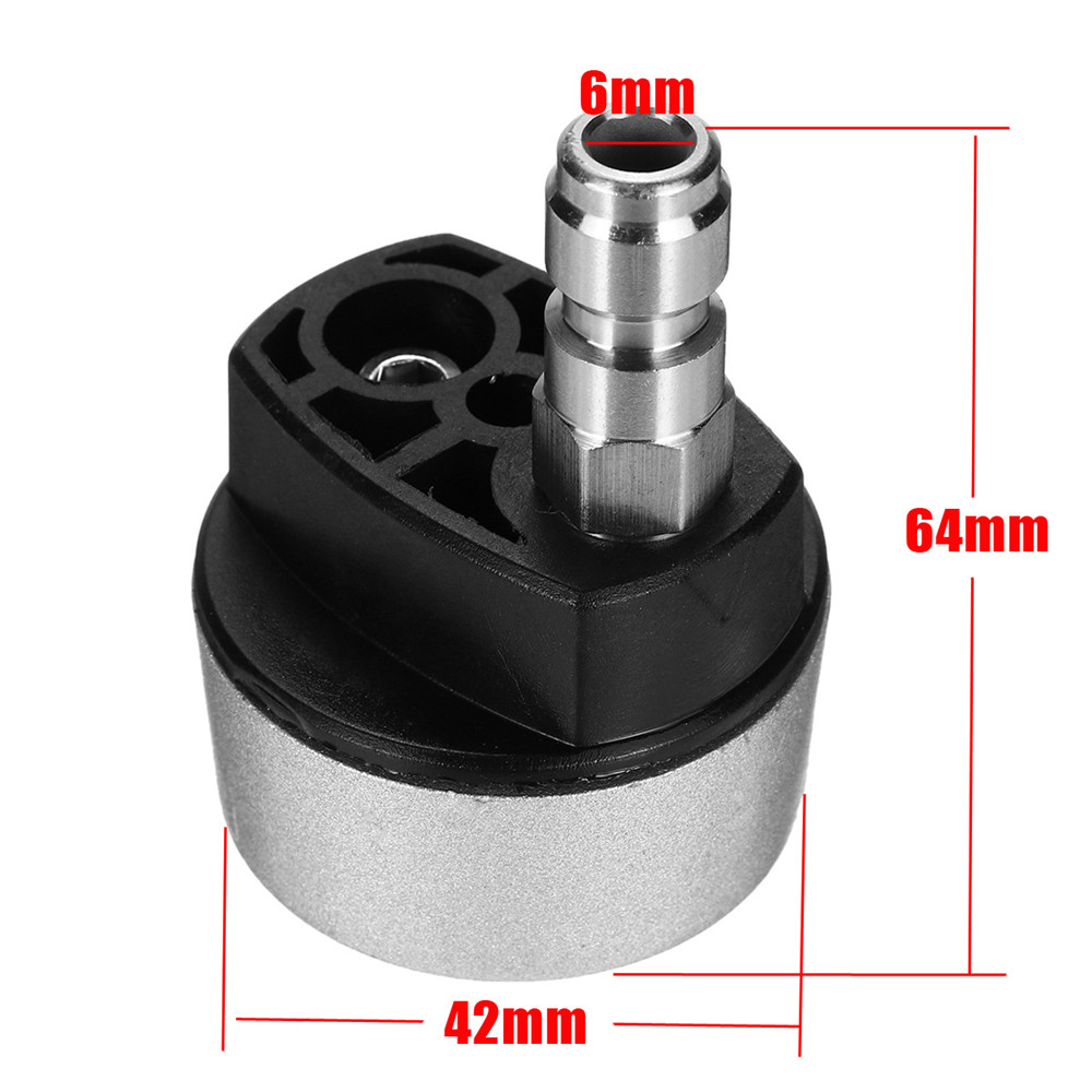 1/4 Inch Quick Connect 5-in-1 Change High Pressure Washer Multi-spray Nozzle