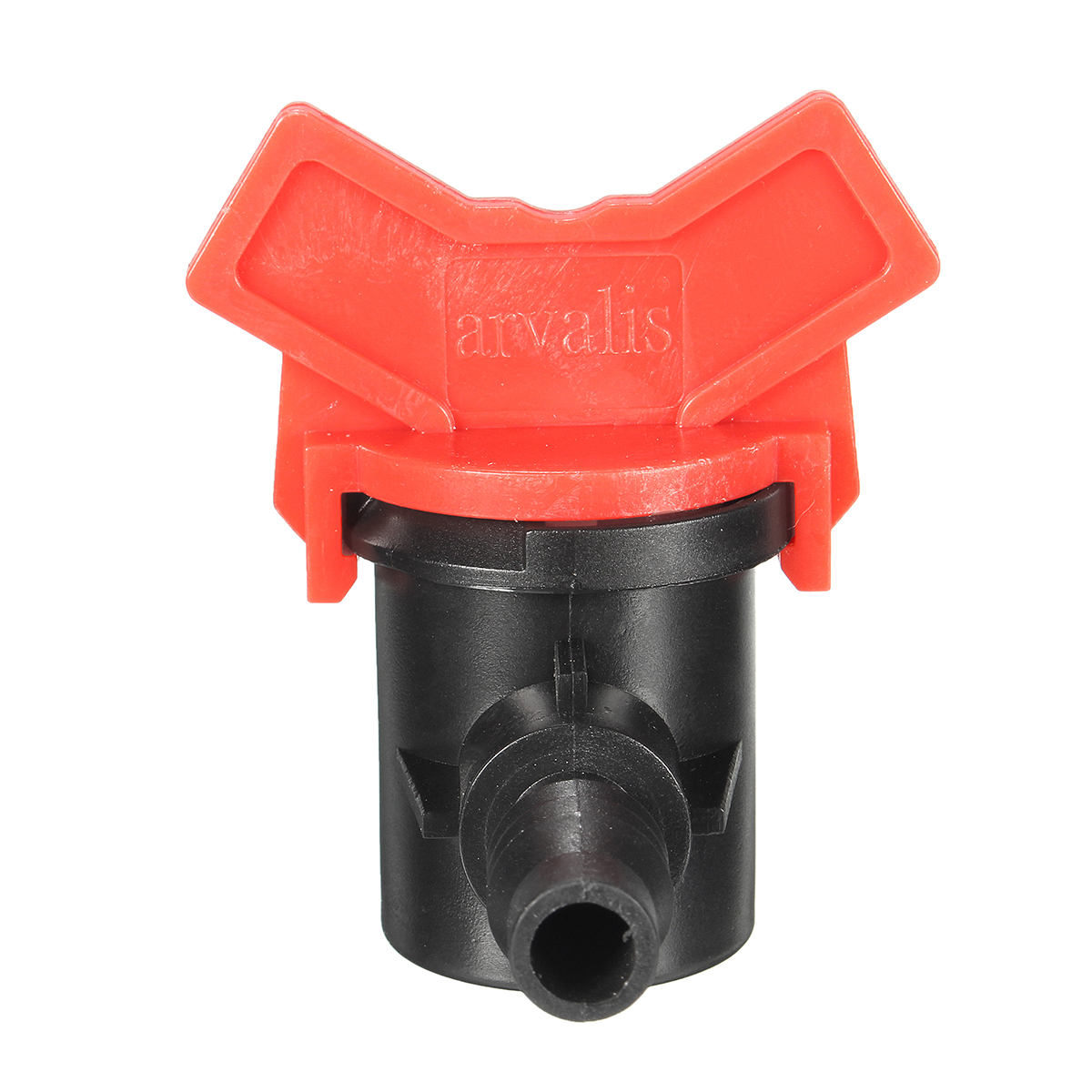 Garden Irrigation Valve Brab Ball Shut-off Connectors Plastic for Water Pipe Hose Tube
