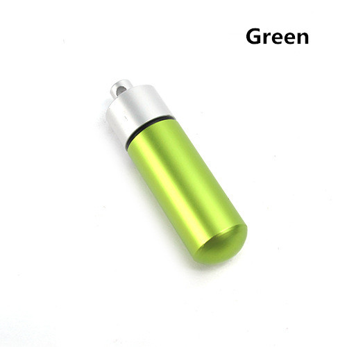 Aluminum Bottle Waterproof Tank Life-saving Equipment Keychain EDC Tool