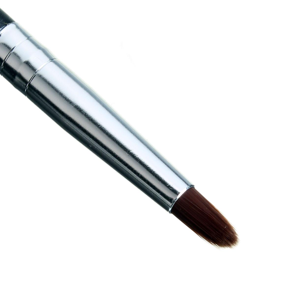 8Pcs Cosmetic Makeup Powder Foundation Eyeshadow Eyeliner Lip Brushes Kit