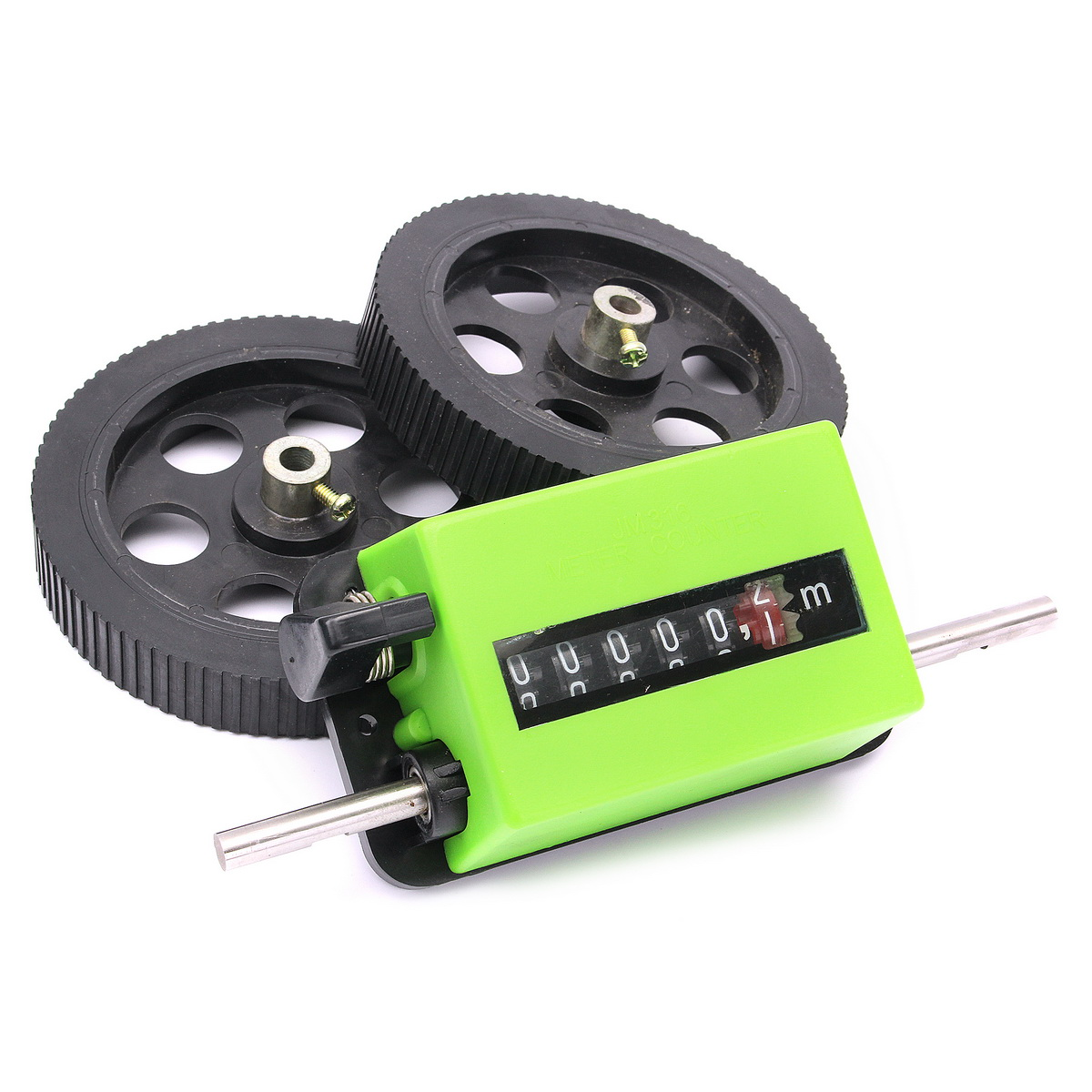 Textile Printing Dyeing Meter Counter Rolling Wheel Mechanical Length Counter