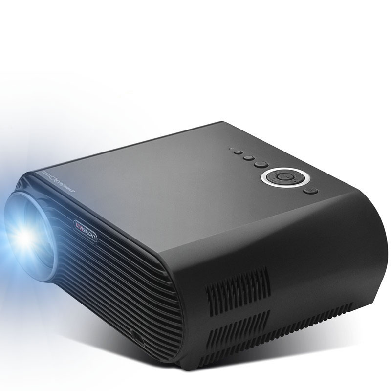 Vivibright GP90 Plus LCD Projector 3200 Lumens 1280x800 Pixels Resolution Support 1080P Home Theater