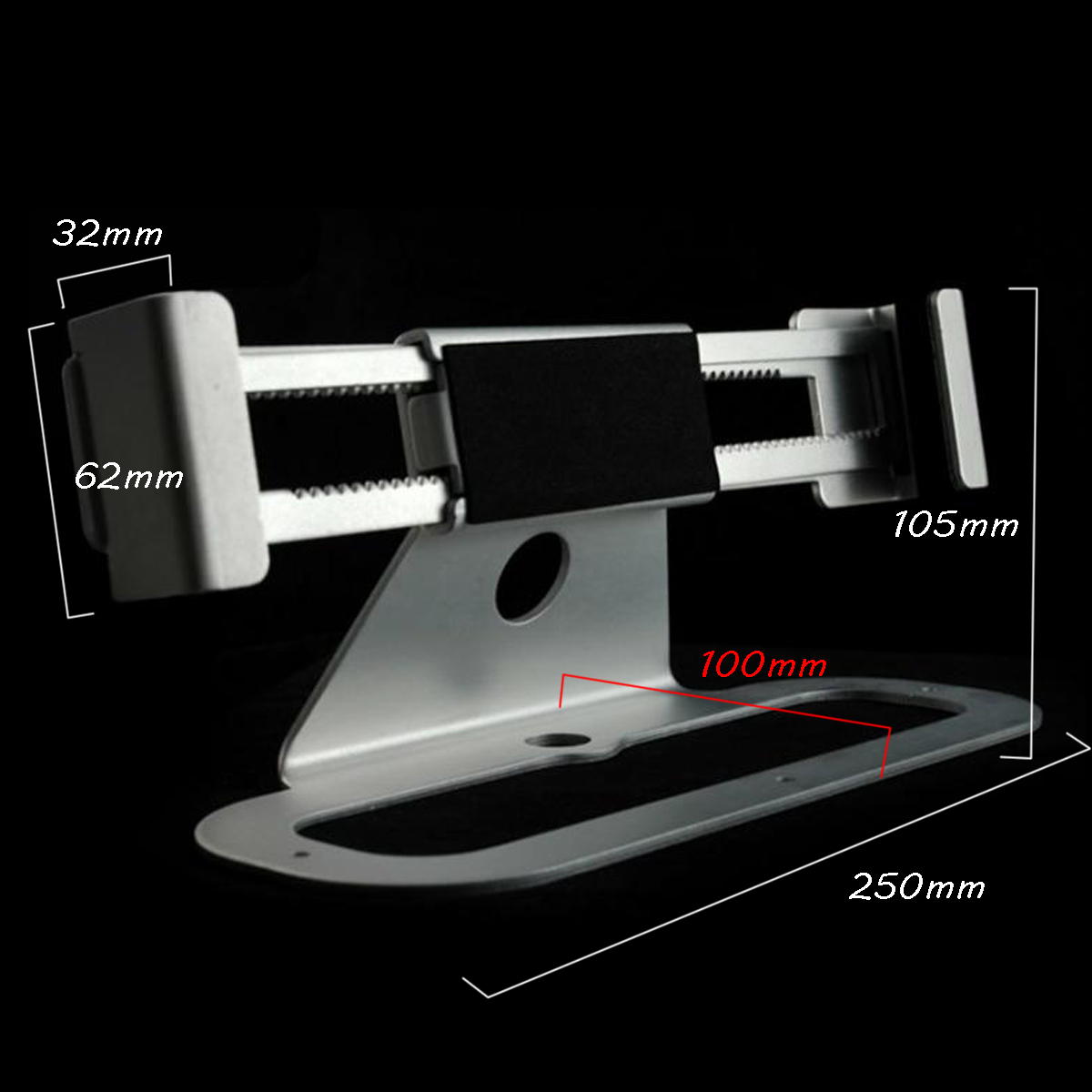 Security Lock Stand Anti-theft Holder Laptop Store Display Metal Mounts