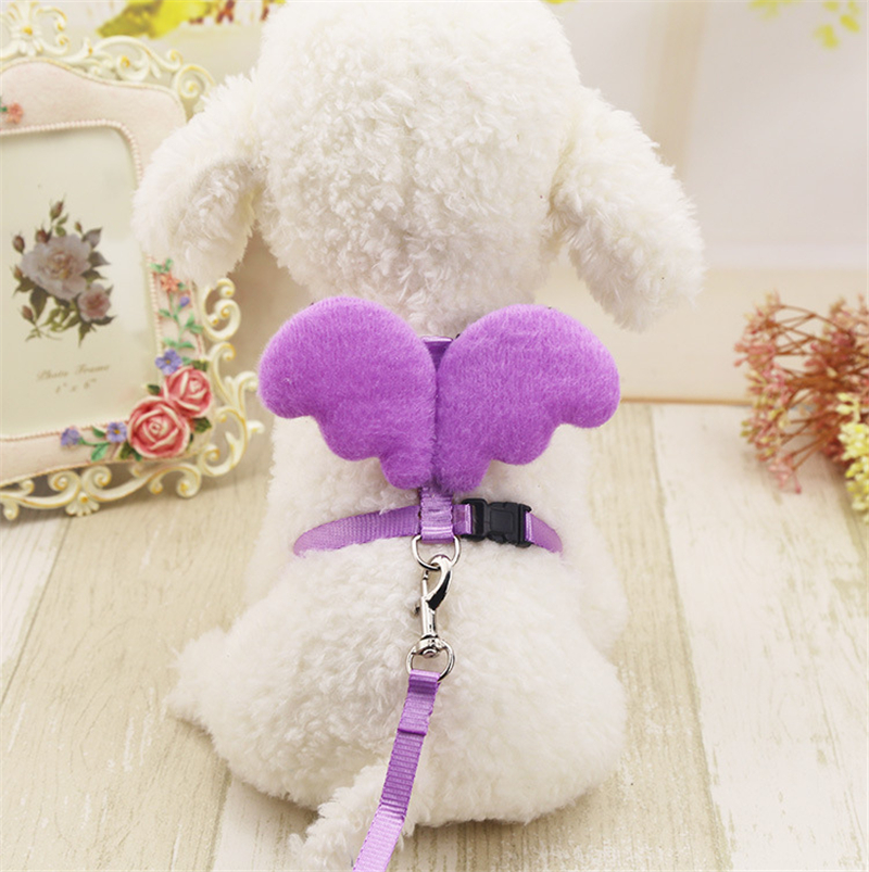 Adjustable Dog Harness Pet Collar Small Dog Leashes Cute Dog Warking Harnesses Pet Supplies