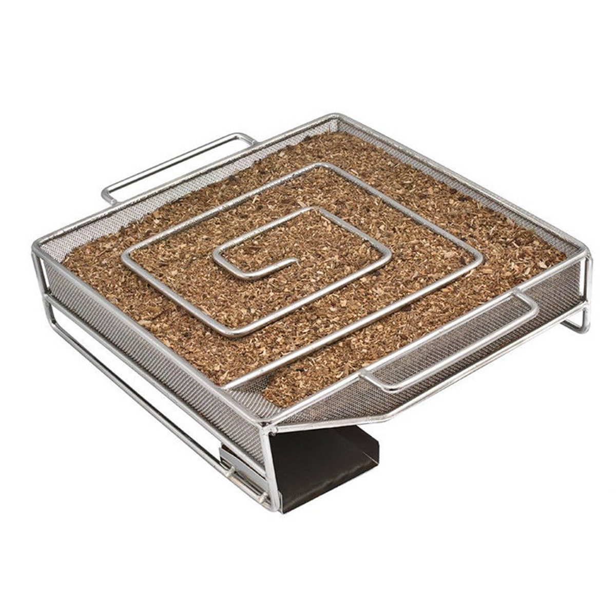 Square Cold Smoke Generator Charcoal Grill Cooking Tools Wood Chip Smoker Outdoor Grill For BBQ Tool
