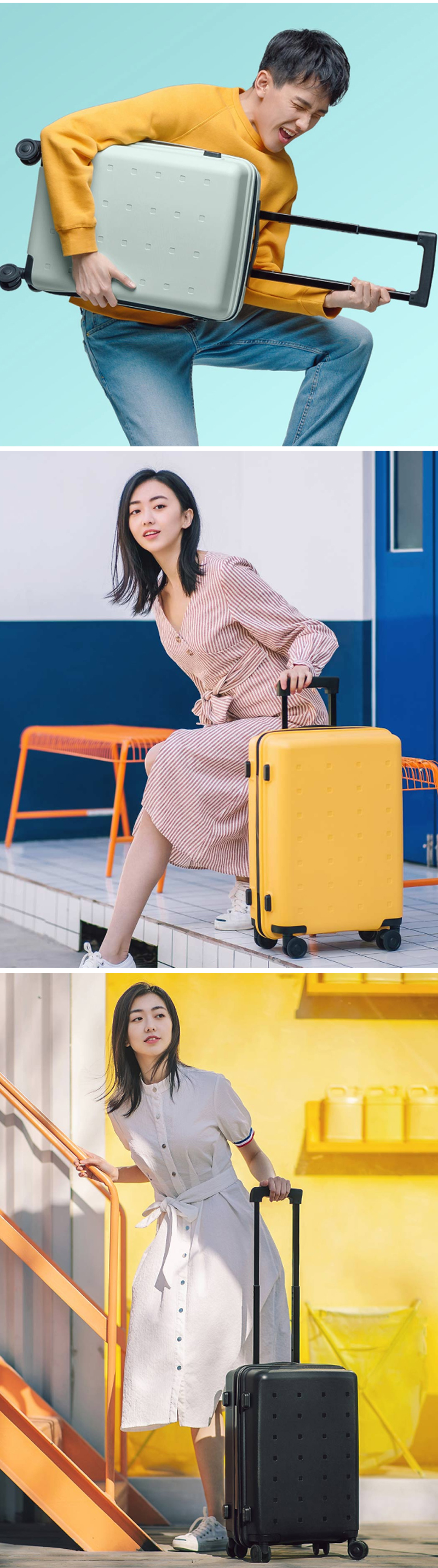 Original Xiaomi 20inch Youth Version Suitcase 36L TSA Lock Spinner Wheel Carry On Luggage Case Outdoor Travel