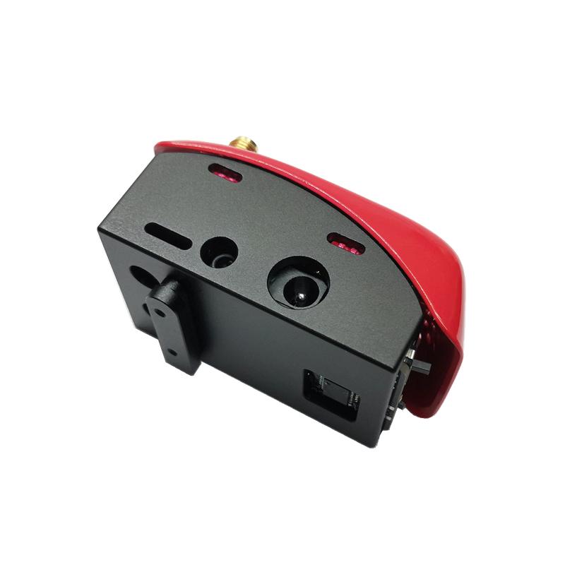 URUAV 5.8G RX PORT 3.0-PLUS DJI Digital FPV Goggles Low Voltage Alarm Simulation Receiver Board+Metal Adapter Mounting Combo for DJI Fatshark FPV Goggles