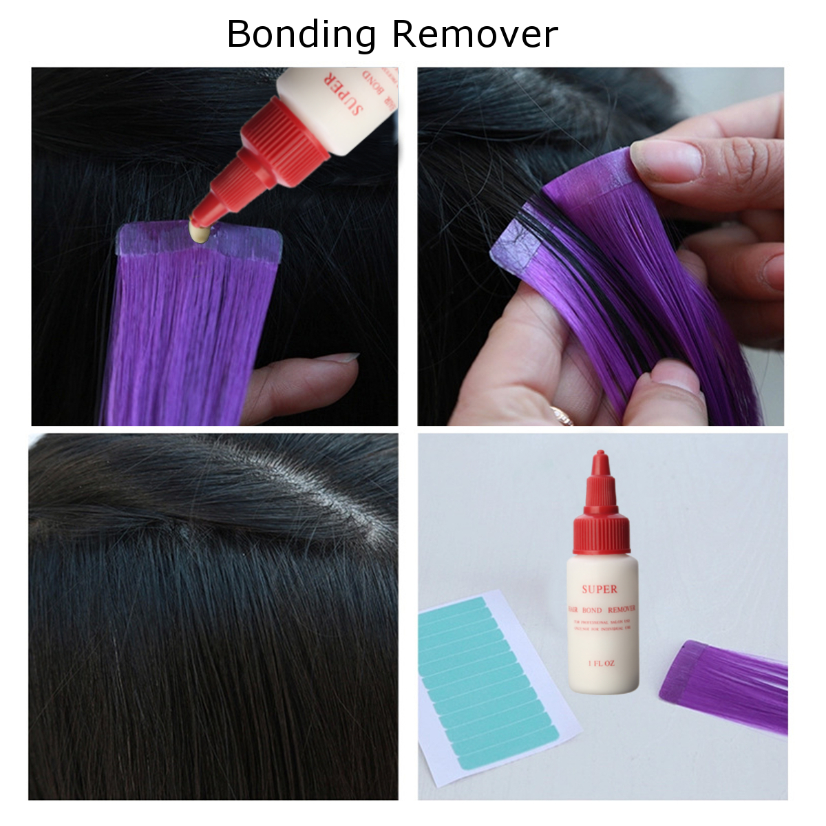 Anti Fungus Super Hair Bonding Glue Remover Bond Gel Glue Wig Liquid Extension