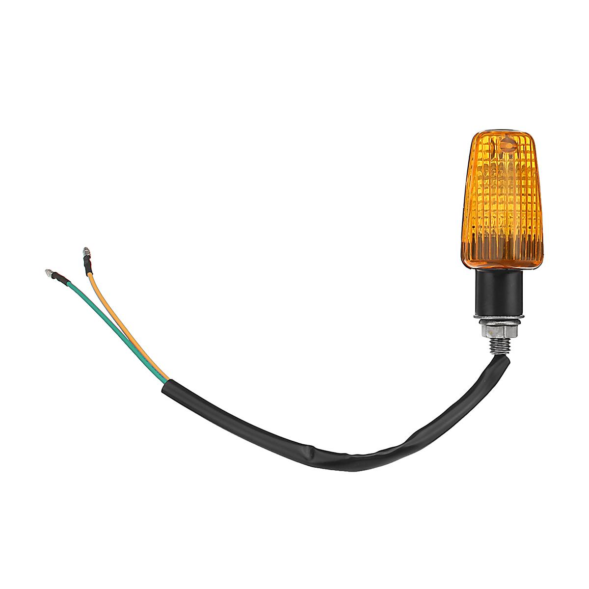 Motorcycle Motorbike Flasher Turn Signal Lamp Indicator LED Lights Universal