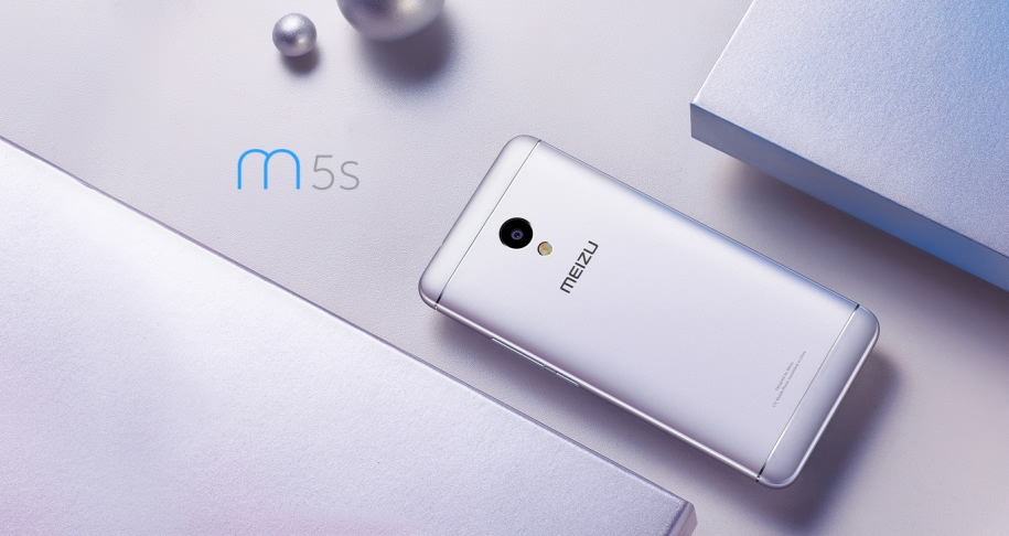 Global Version Meizu M5S 5.2 Inch 2.5D 3GB RAM 16GB ROM MTK6753 Octa Core 4G Smartphone
