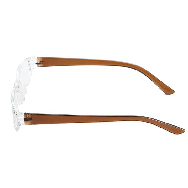 Unisex Presbyopic Eyeglasseess Vintage Anti Shock Resin Reading Eyewear Glasses