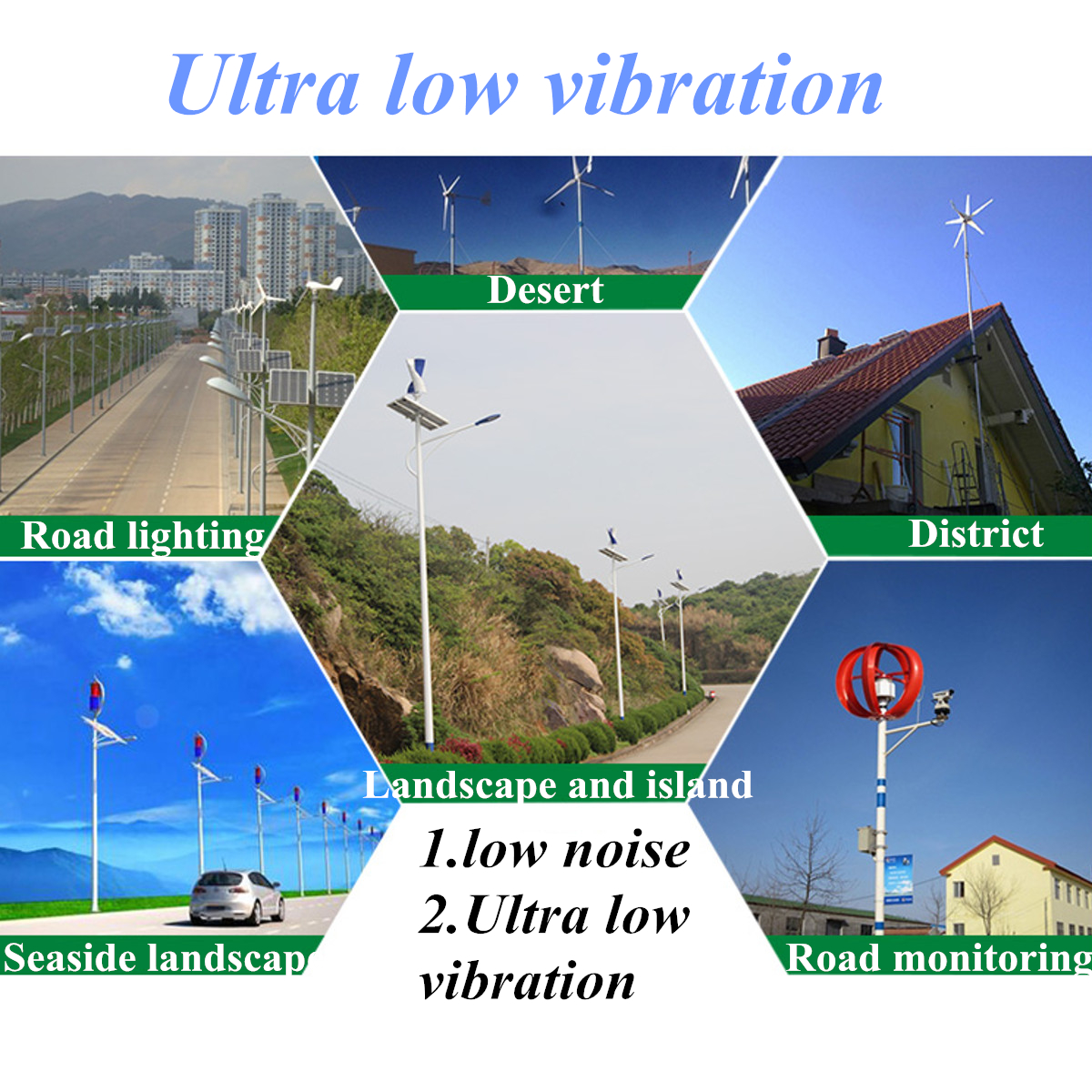 400W Wind Turbine Generator Kit Max AC 12V 24V 3 Blade Option Aerogenerator