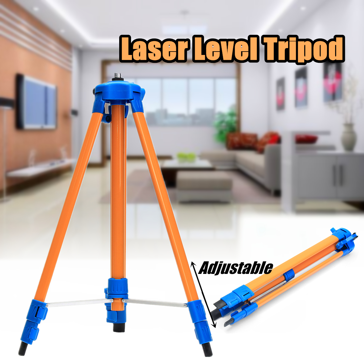 Universal 1.5M Laser Level Tripod Stand for Laser Level Aluminium Alloy
