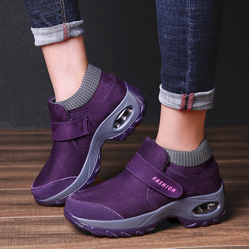 Women Casual Hook Loop Shoes