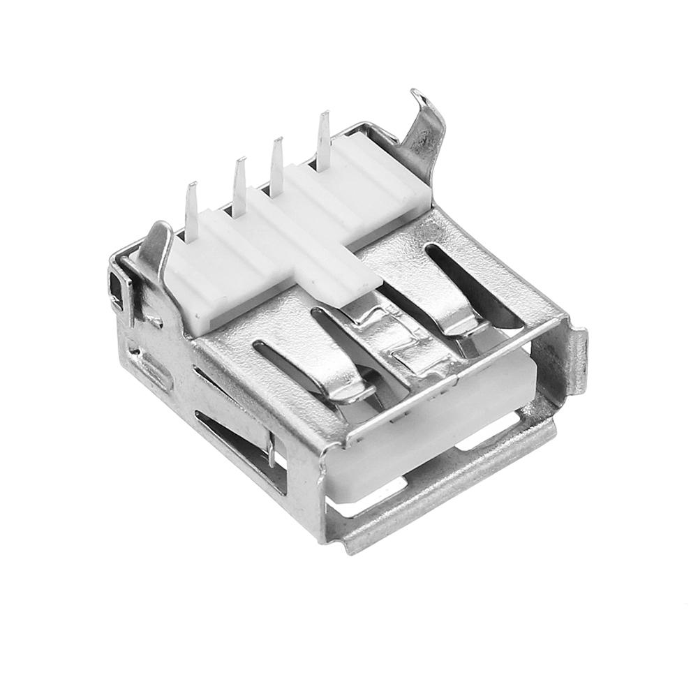 10pcs AF90 Degree Type A female Socket Connector USB Charging Socket USB Socket Interface Connector