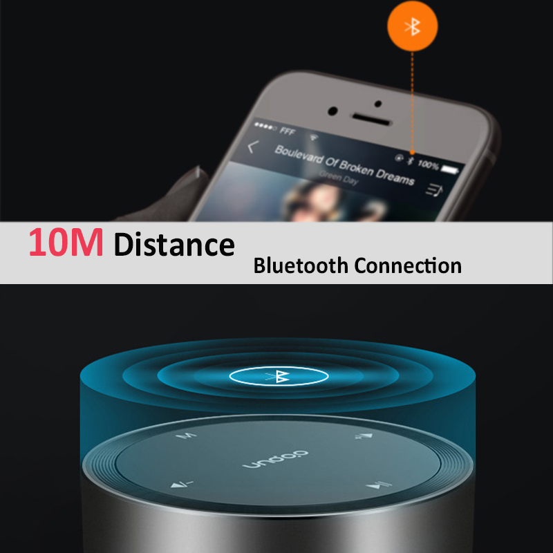 F4 Portable Mini Wireless bluetooth Speaker TF Card Aux-in Stereo Speaker with Mic