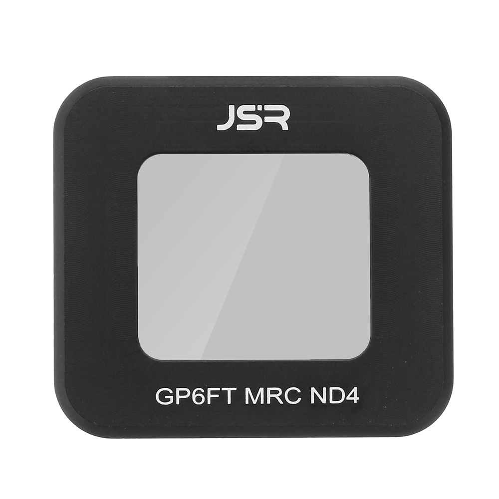 JSR ND4 Lens Filter Cover for Gopro 6 5 Sport Camera Or