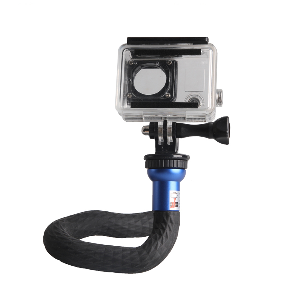 V-RST Flexible Hose Monopod Gimbal Stand Tripod For Gopro Camera Action Cam Phone