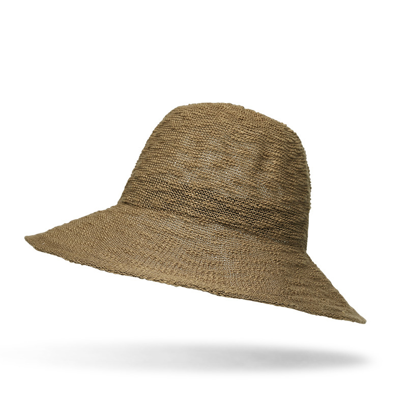 Women Outdoor Hollow Out Wide Brimmed Bucket Hat
