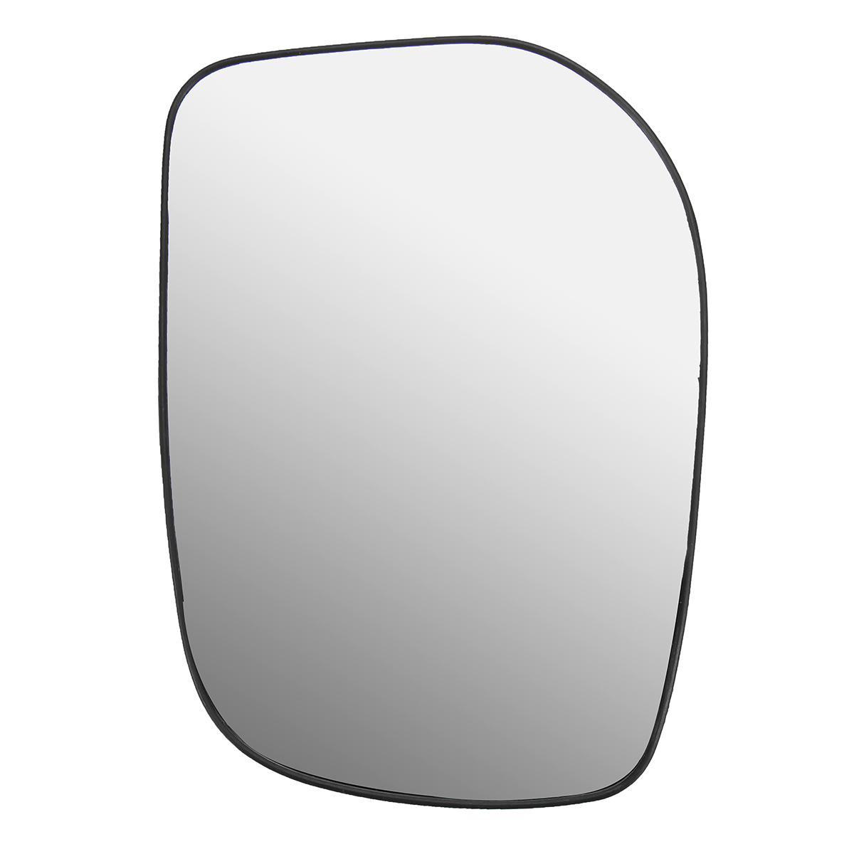 Car Left Door/Wing Mirror Glass Silver Nonheated & Base For TOYOTA YARIS 2006-2009