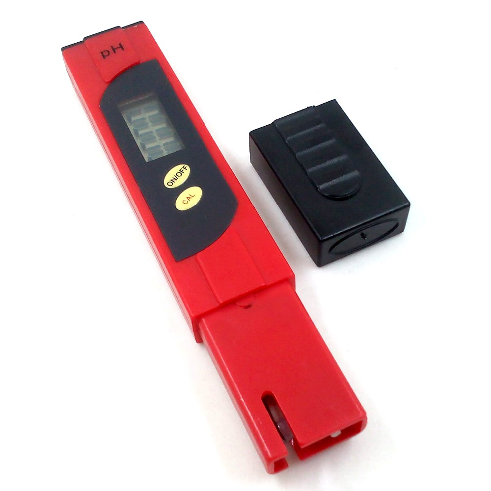 Portable PH Meter PH Tester Soil Precision Glass Probe Detector Water Quality Analyzers