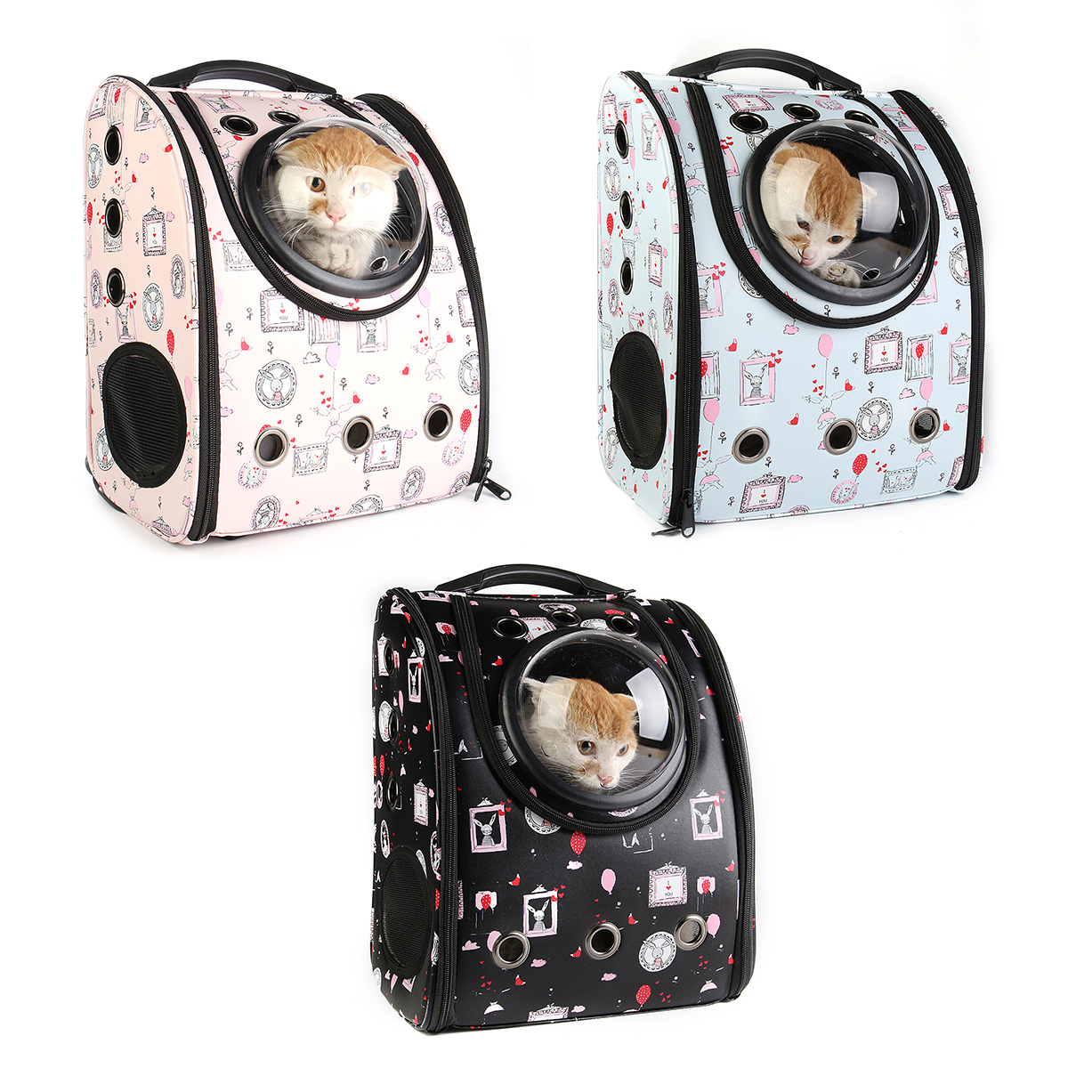 Outdoor Space Capsule Astronaut Cat Dog Carrier Bag Backpack