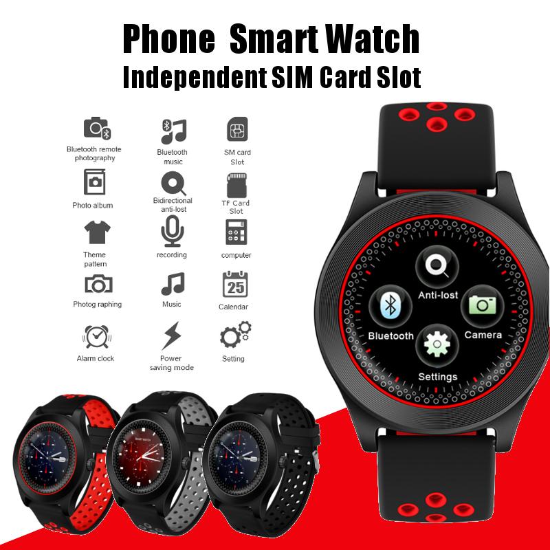 Bakeey TF8 1.54inch Sleep Monitor Pedometer GSM Call TF Card Extend Camera Bluetooth Smart Watch