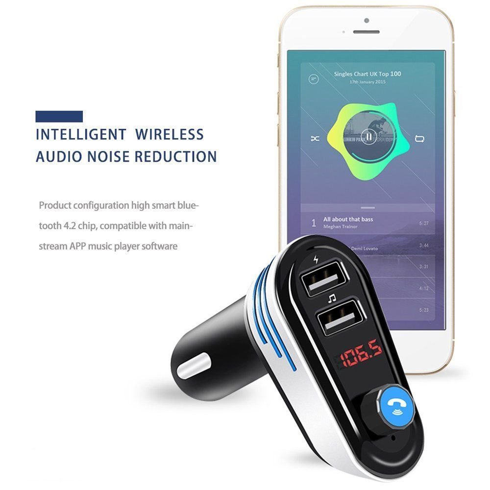 AP02 Wireless bluetooth Car Kit FM transmitter Modulator Car Kit MP3 Player
