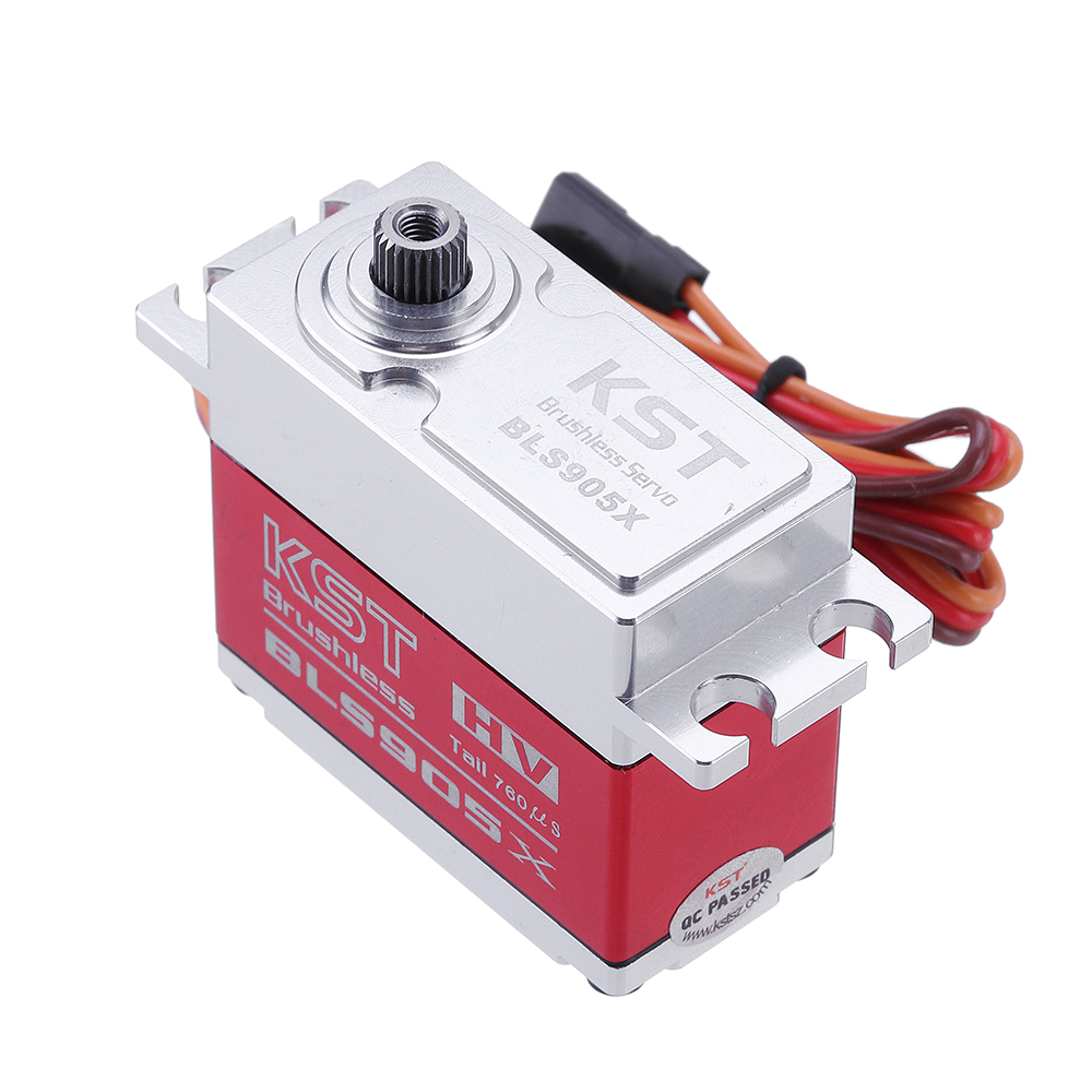 KST BLS905X Brushless Metal Gear Head-Locking Digital Servo For 550-800 Class RC Helicopter RC Car - Photo: 5