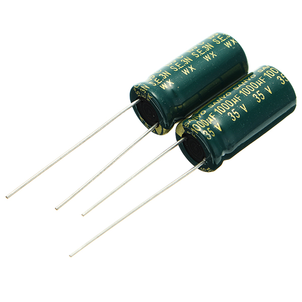 20pcs 35V 1000UF High Frequency Long Life Capacitor LCD Motherboard Power Supply Electrolytic Capacitor ROHS 10 x 20mm