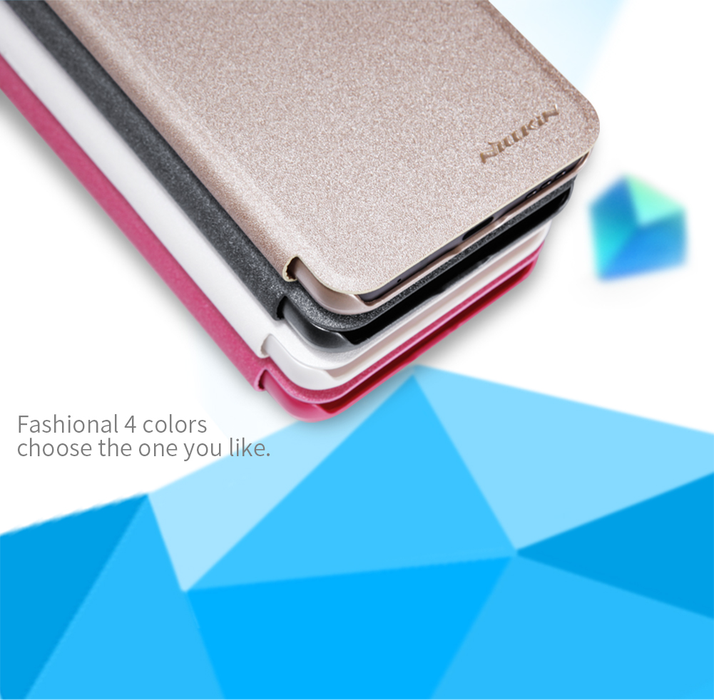 Nillkin Flip Sleep Function View Window PU Leather Full Protective Case For LG G6