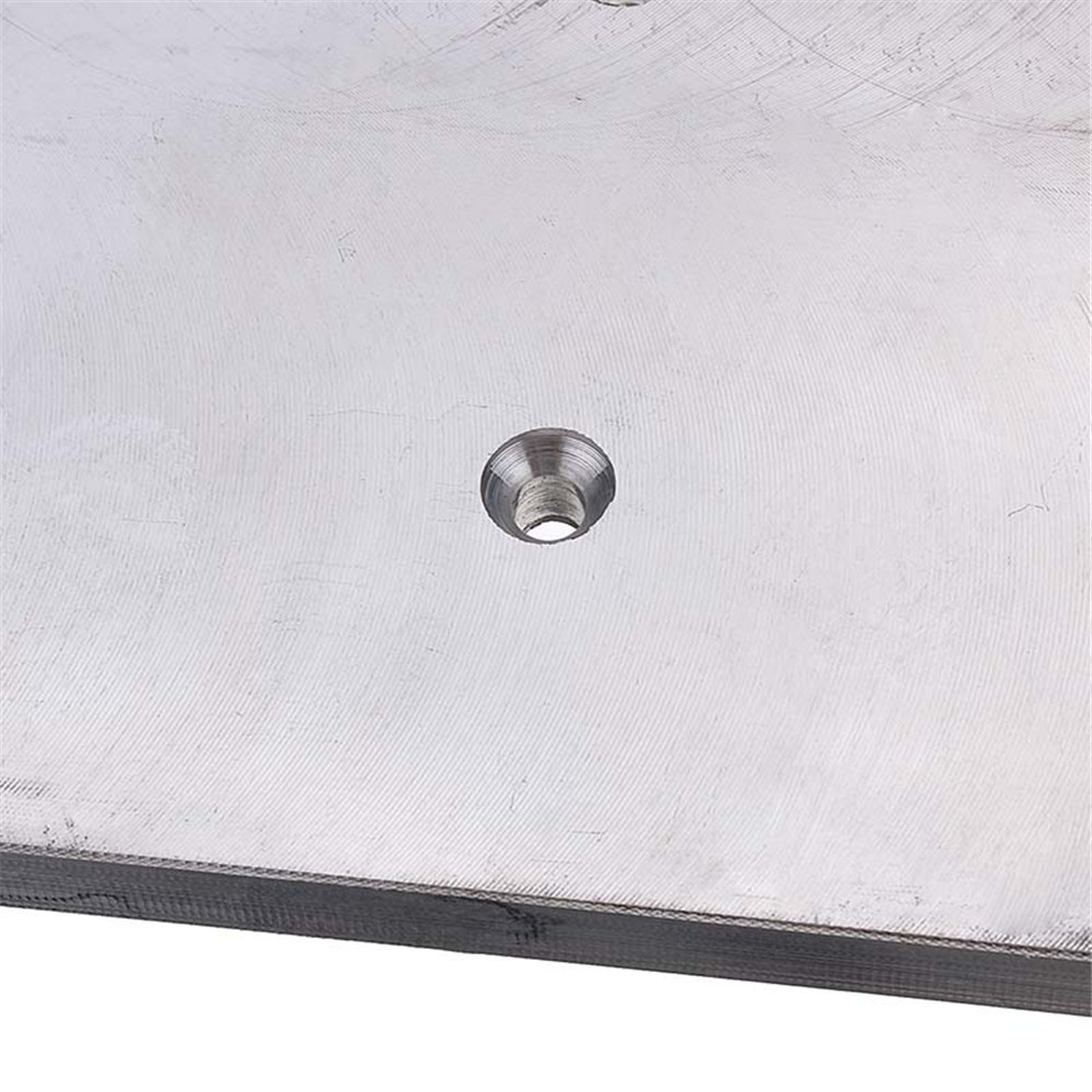 Aluminum Plunge Router Table Insert Plate Small Size Multifuctional Household for Jig Saw