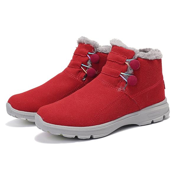 Снег Ботинки Меховая подкладка Хлопок Non Slip На открытом воздухе Спортивная обувь